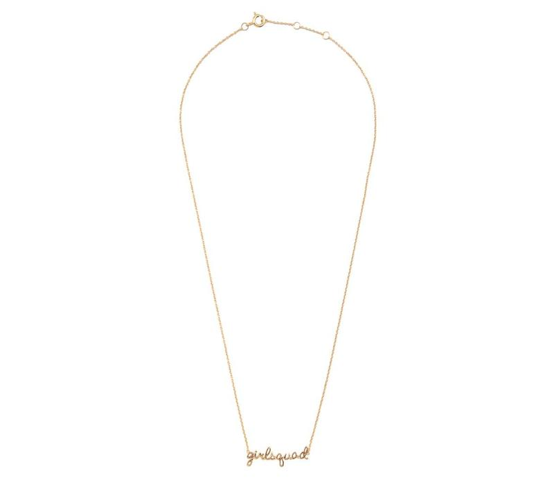 Urban Goldplated Necklace Girlsquad