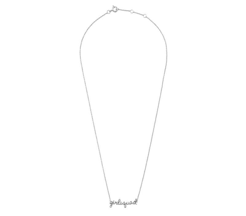 Ketting Girlsquad zilver