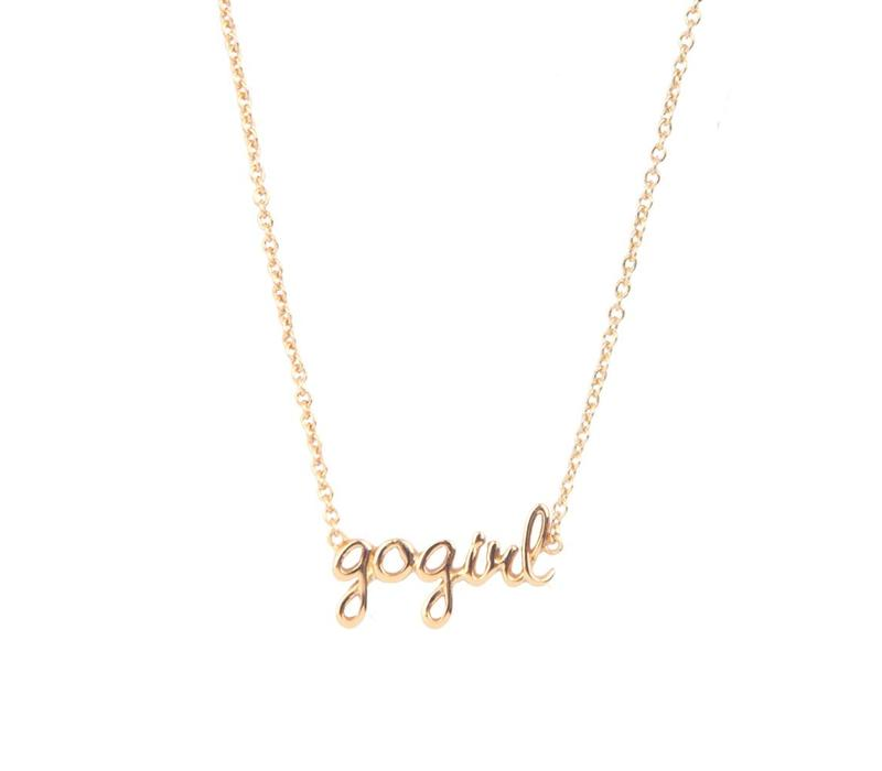 Urban Goldplated Necklace Gogirl