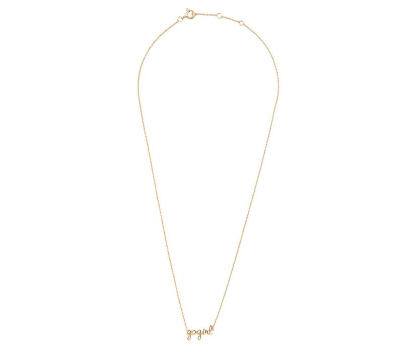 Necklace Gogirl gold