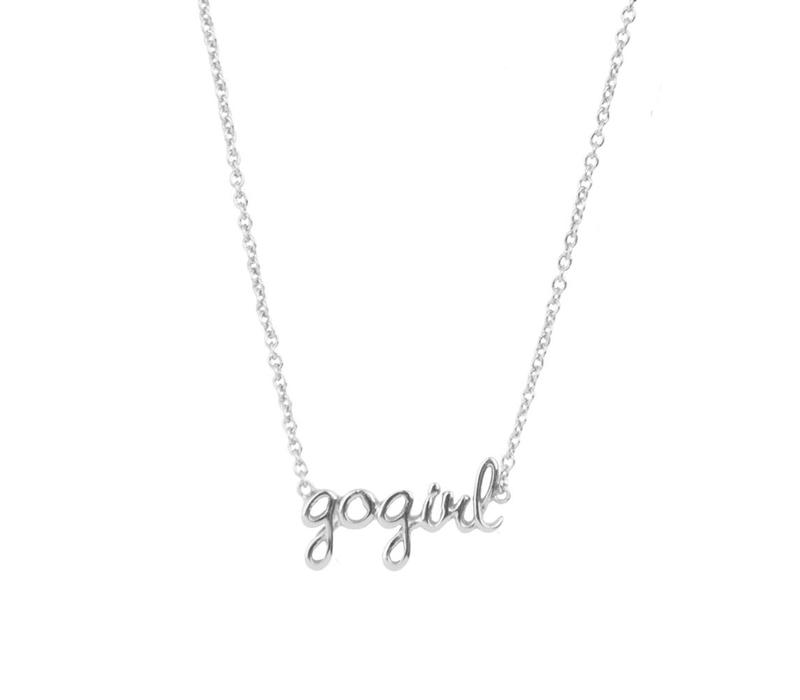 Necklace Gogirl plated