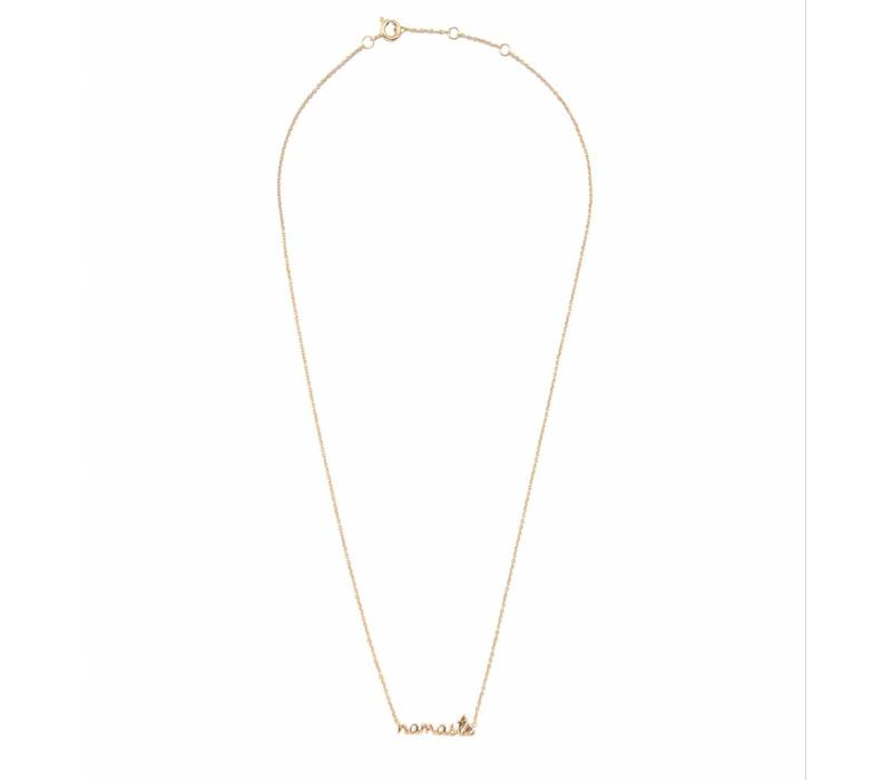 Necklace Namaste gold