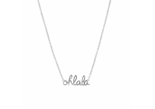 All the Luck in the World Urban Silverplated Necklace Ohlala