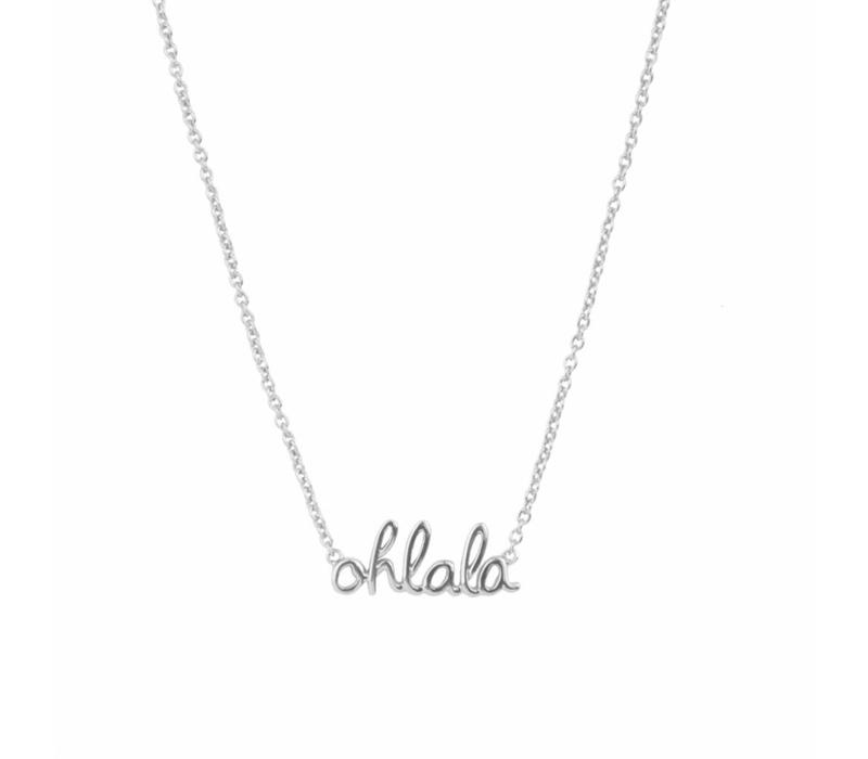 Necklace Ohlala silver