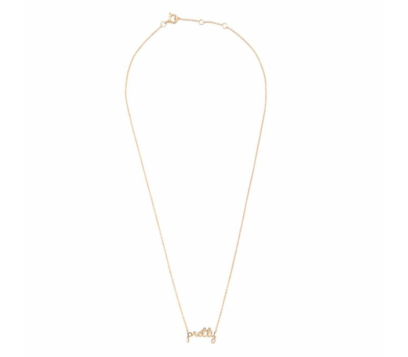 Urban Goldplated Necklace Pretty