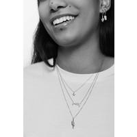 Urban Silverplated Necklace Pretty