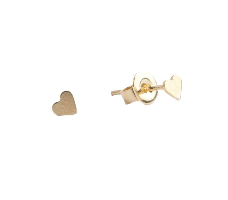 Earrings Heart gold