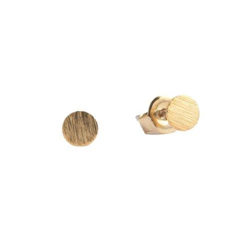 Oorbellen Munt goud