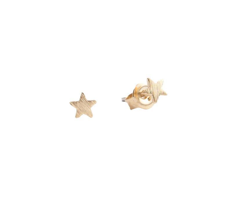 Earrings Star plated