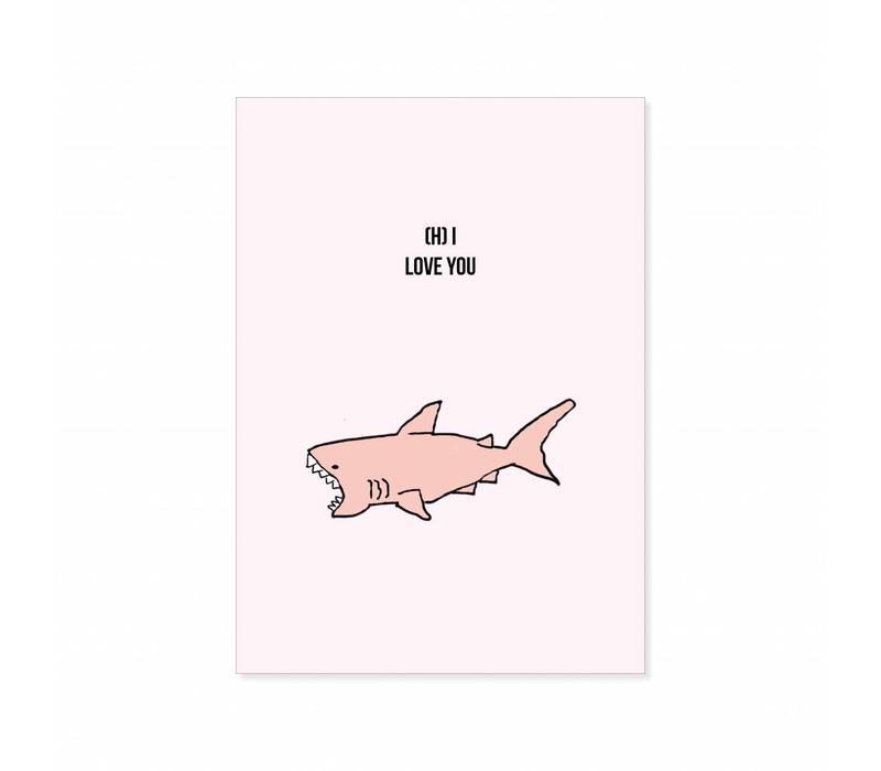 Postcard (h)i loveyou