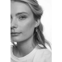 Petite Sterling Silver Earrings Rhomb