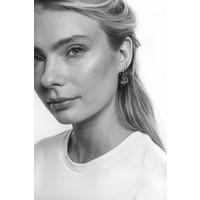 Earrings Strip silver