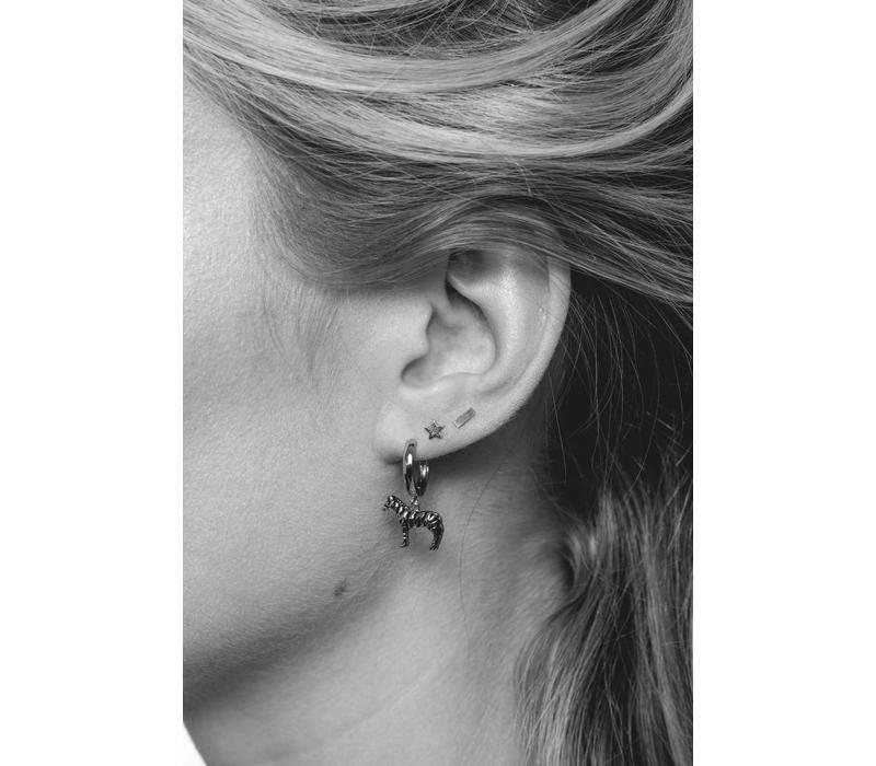 Earrings Minus plated