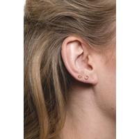 Petite Goldplated Sterling Silver Earrings Oval