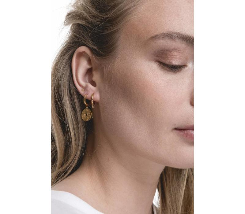 Earrings Star gold