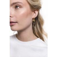 Petite Goldplated Sterling Silver Earrings Heart