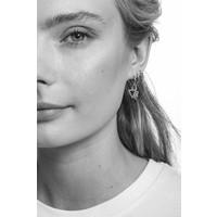 Petite Sterling Silver Earrings Circle