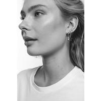 Earrings Pentagon silver