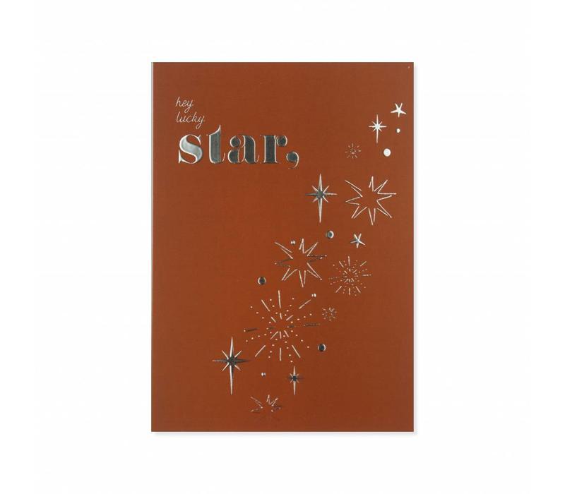Postcard Lucky Star