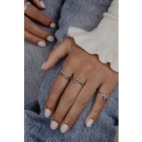 Ring Kolibrie zilver