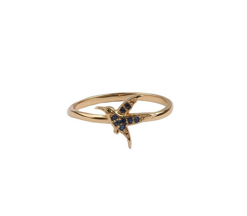 Ring My Little Hummingbird 18K gold