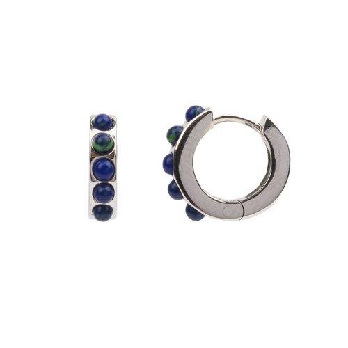 Creool breed Blauw zilver