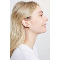 Bliss Goldplated Earring Hook Black Onyx