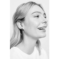 Bliss Silverplated Earring 2 Split Black Onyx