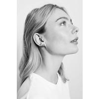Earring 4 Split silver