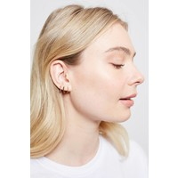 Bliss Goldplated Earring Creole Multi