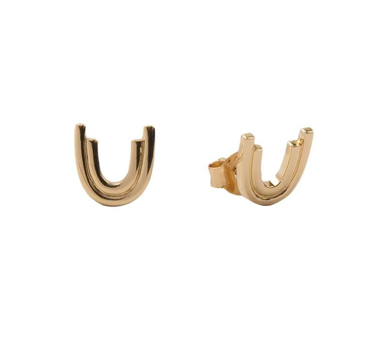 Parade Goldplated Earrings Rainbow