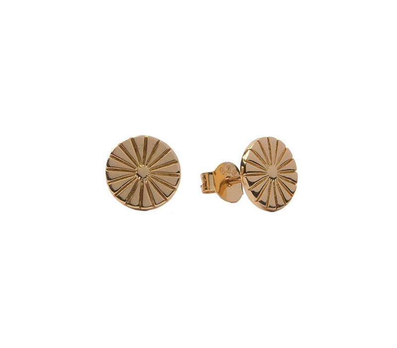 Parade Goldplated Earrings Sunny Coin