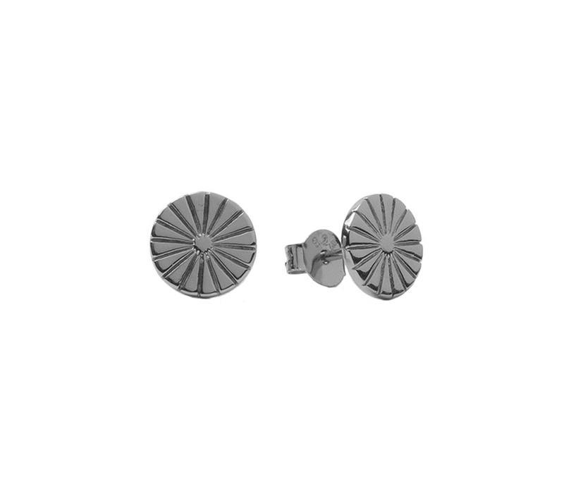 Earrings Sunny Coin silver