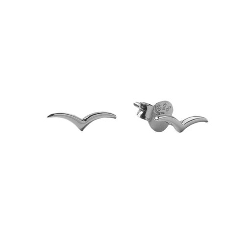 Oorbellen Zwaluw zilver