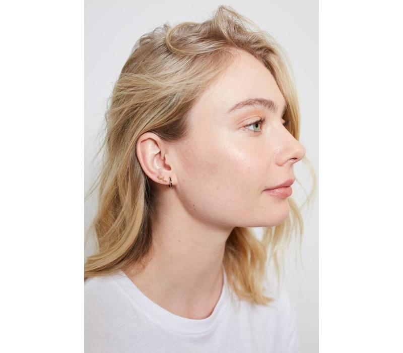 Parade Goldplated Earrings Wave