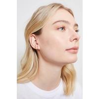 Earrings Vee plated