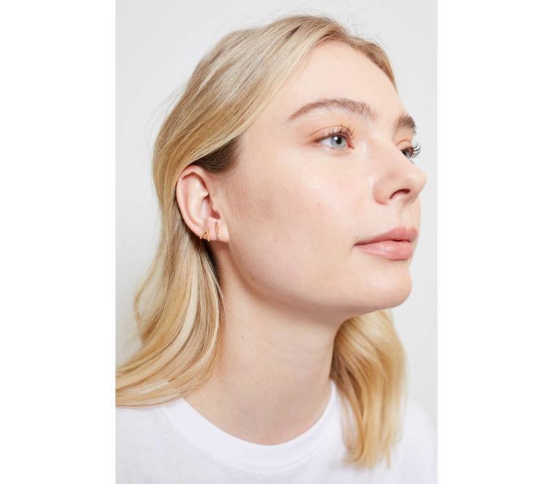 Parade Goldplated Earrings Vee