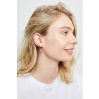 Earrings Three Flowers gold