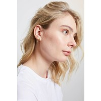 Earrings Three Circles gold