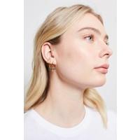 Parade Goldplated Earrings Three Bars