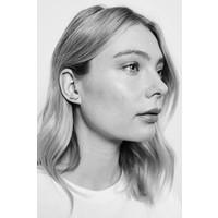 Earrings Swallow plated
