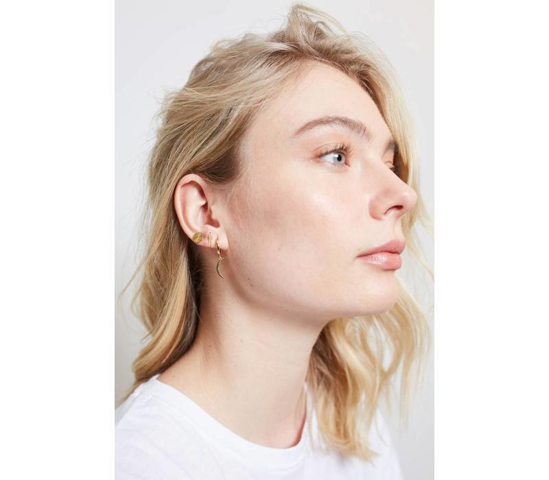 Earrings Sunny Coin plated