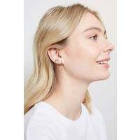 Earrings Sun silver