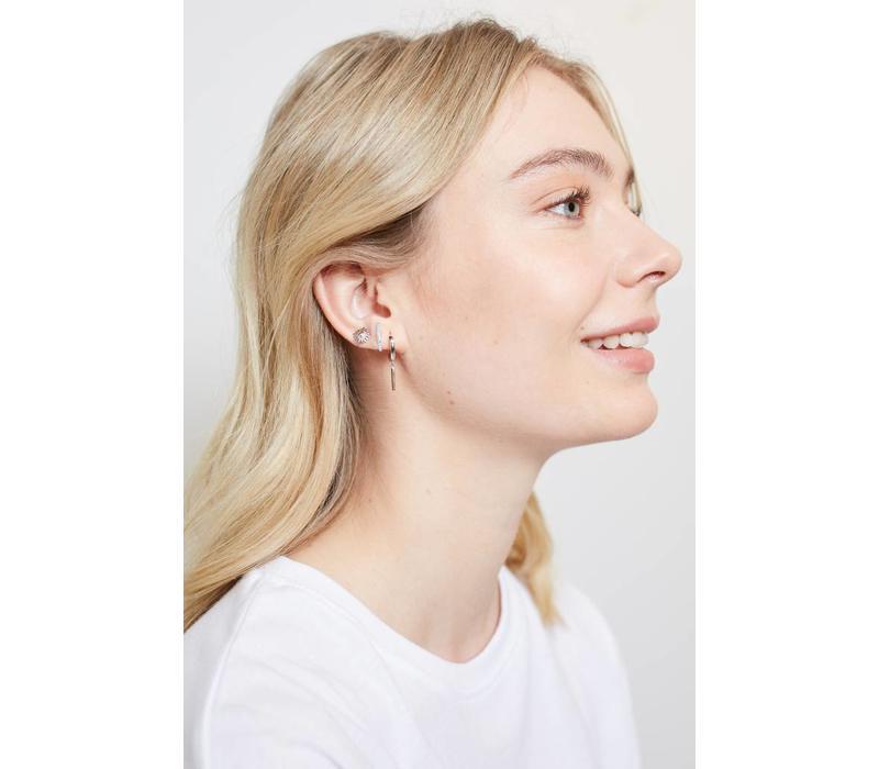 Parade Silverplated Earrings Sun