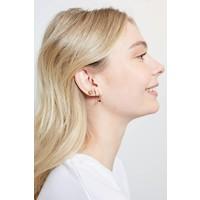 Earrings Sun plated