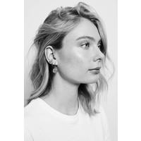 Earrings Koi Carp plated