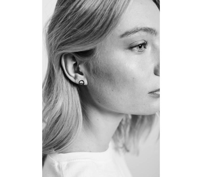 Earrings Geometric Circle plated