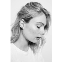 Parade Silverplated Earrings Crane