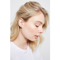 Parade Goldplated Earrings Crane