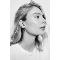 Parade Silverplated Earrings Starfish Half